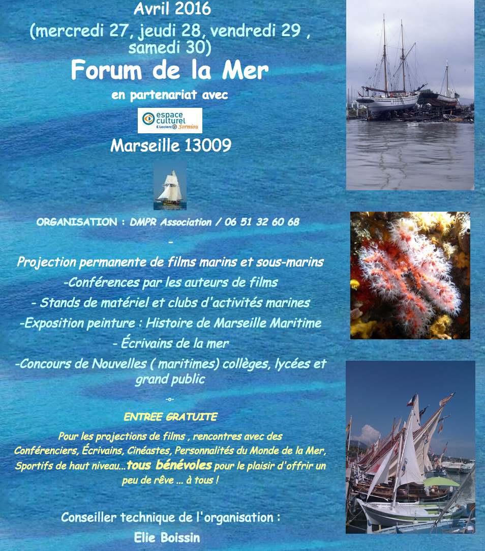 forum de la mer