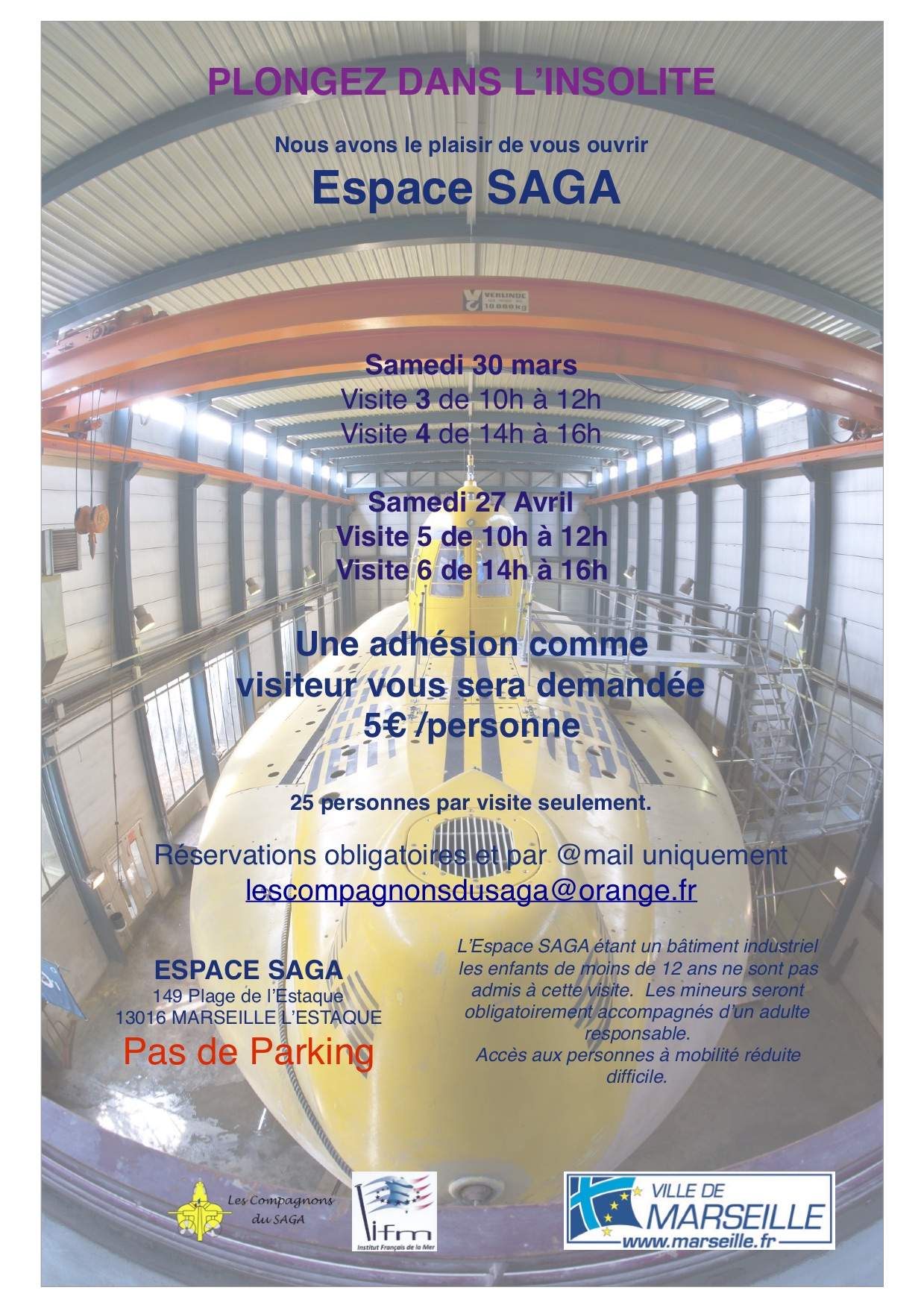 Flyer 30 mars et 27 avril 2019