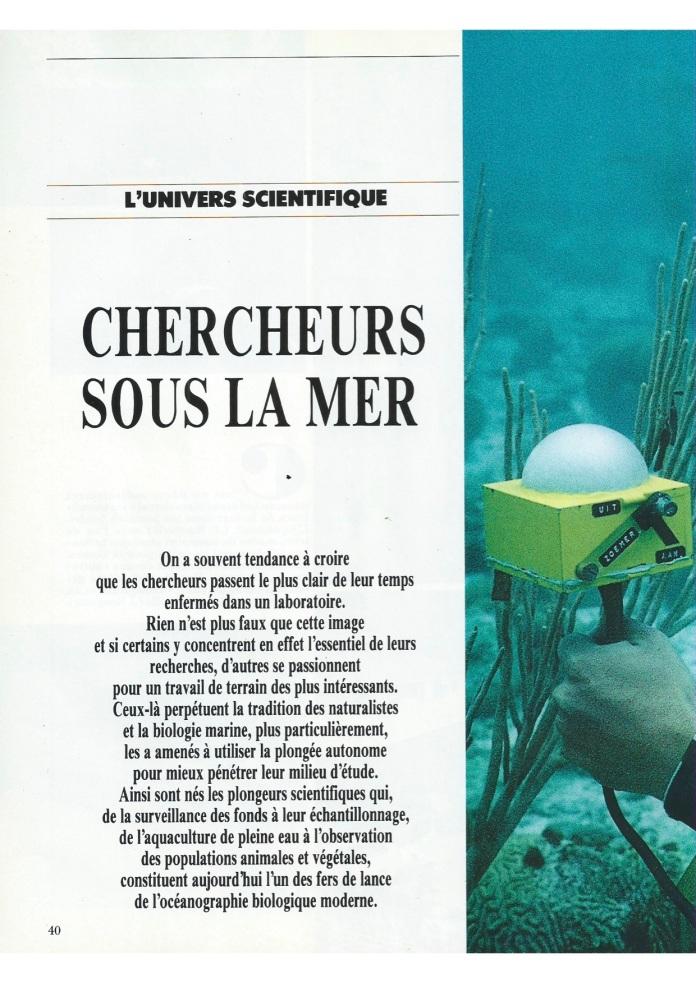Le monde de la mer S00