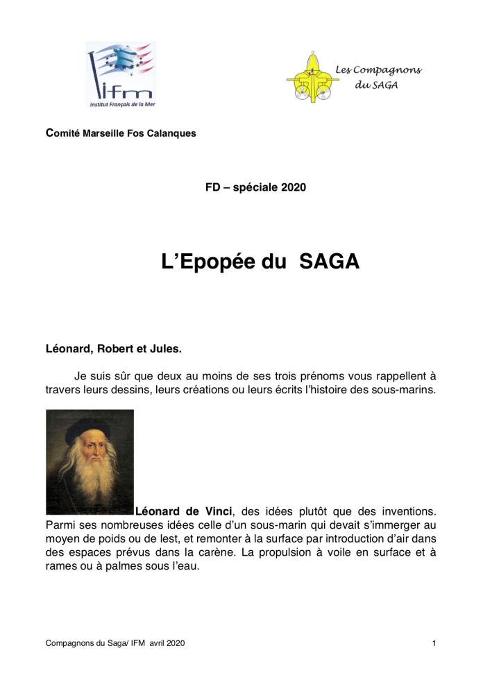 L'Epopée SAGA 1