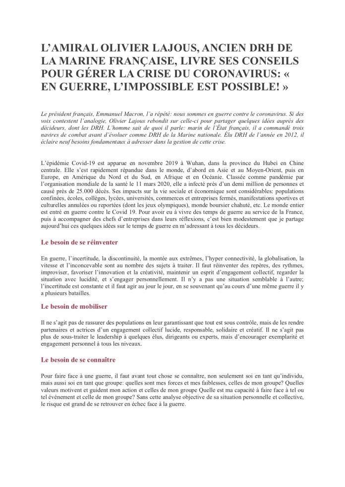 Olivier Lajous1